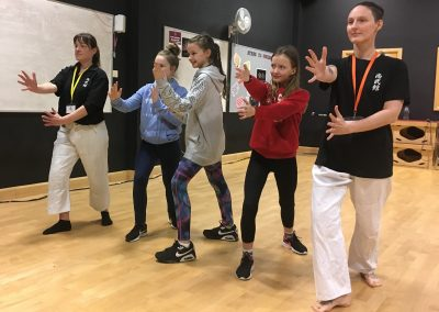 resize Pupils taking part in self-defence workshop (RR)