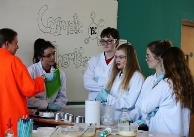 resize Students taking part in the Cosmic Chemistry event (RR)